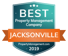 Best Property Management Jacksonville FL 2019 Award